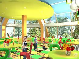 Дипломная работа Елены Куренко Детское кафе создано в едином   Дипломная работа Елены Куренко Детское кафе создано в едином стиле с использованием ярких цветофактурных акцентов больших конструктивных элементов