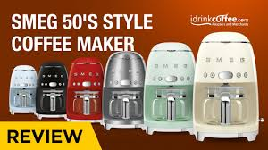 Smeg 50's <b>Style Coffee</b> Maker Preview - YouTube