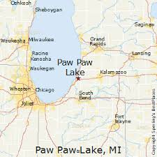 Paw Paw Michigan Map Time Zones Map