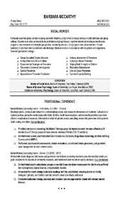 Example Of Work Resume Enchanting A Professional Resume Template For A Social Worker Want It