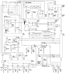 Carburetor wiring diagram truck ford 4g91 ga15 engine 22r