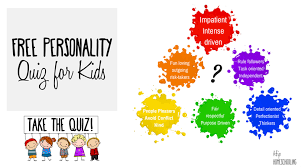The test is very simple, however it provides a very exact and solid result. Personality Test For Kids Take The Free Quiz Today
