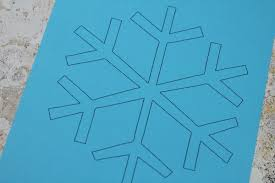 Snowflakes Template Pdf Free Snowflake Template Crafts On Sea