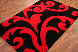 red black rug large red black flower rug big area rugs mats carpets with regard to red black rug