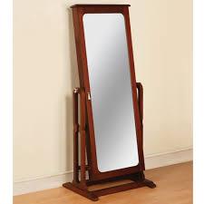 design standing mirror jewelry armoire