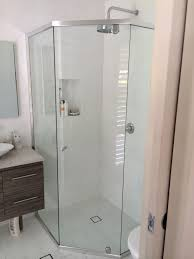 semi frameless shower screens shower screens modern glass s central coast gosford north s berowra mount colah