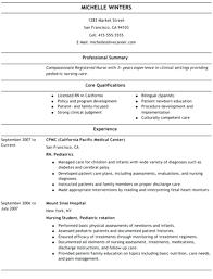 Resume Templates For Nurses Custom Nurse Resume Templates Free Nursing Resume Templates Nurse Resume
