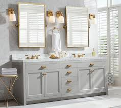 bathroom pivot mirror. Light Gray Vanity With Gold Framed Pivot Mirrors For Amazing Bathroom Ideas Mirror A