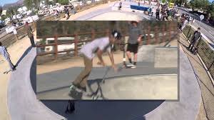 City Unveils Newest Extreme Amenity - Serenity Skate Park - YouTube