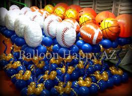 Sports Themed Balloon Decor Football Centerpieces For Banquet Metaldetectingandotherstuffidigus