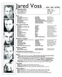Theater Resume Template Unique Actors Resume Example Actor Resume Examples Resume Tali Sample