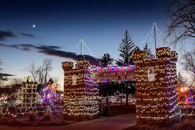 Storybook Island Rapid City Sd Christmas Lights Christmas Nights Of Light Travel South Dakota