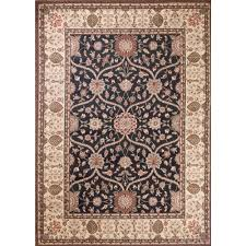 concord global trading mooresville arts and crafts black 7 ft x 9 ft area