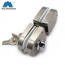 glass door lock clamp