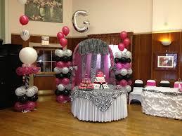 Leopard Print Party Decorations Quinceanera Zebra Hot Pink Decoration Ideas Seshalyns Party