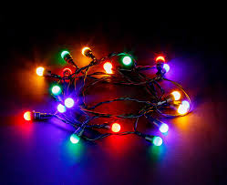 20 Led Lights Battery Operated 20 Led Berry String Lights Battery Operated Static Multi Coloured