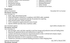 Resume For Restaurant Job With No Experience Lovely Bartender