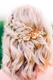 Coiffure Mariage Wavy Cheveux Court Maquillage Mariage