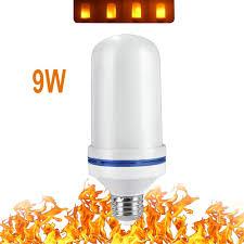 Nieuwe Ontwerp 4 Modi E26e27e14e12 Led Vlam Lamp Ondersteboven Effect Gesimuleerde Decoratieve Vintage Sfeer Verlichting Lamp