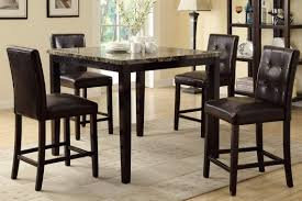 amazon counter height dining table and 4 high chairs by poundex tables