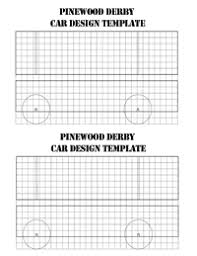 pinewood derby blank template. Pinewood Derby Car Blank Grid Sheets Three Rivers District