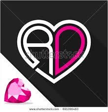 Romantic Letter Gorgeous D Love R Letter The Best Letter