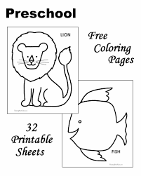 By best coloring pagesoctober 4th 2016. Preschool Coloring Pages And Sheets