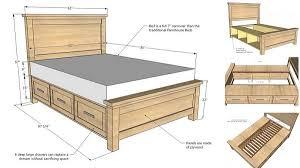 farmhouse storage bed. Beautiful Storage FarmersBedWithStorage1 On Farmhouse Storage Bed
