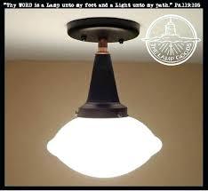 milk glass light fixture fixtures antique 1910 ceiling