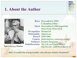 the secret life of walter mitty james thurber am ppt  3 1
