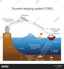 Authorities believe tsunami activity could hit the region in the next hour at points along the coast of alaska. Tsunami Warning System Image Photo Free Trial Bigstock