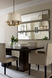dining room table mirror top: the treatment of the mirrors is especially great for a small dining room as the room will instantly double in size contemporary furniture