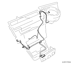vauxhall workshop manuals > astra h > n electrical equipment and 3 remove wiring harness of air
