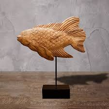 <b>Статуэтка</b> деревянная Рыба купить на Global Rus <b>Trade</b>