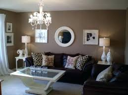 Living Room Brown Couch Enchanting Black And Brown Living Room Gray And Brown Living Room Ideas Two