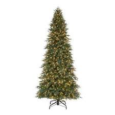 Pre-Lit LED Meadow Fir Quick Set Artificial Christmas Tree with 900 Trees - The Home Depot