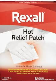 Pain Relief Patch Hot Rexall delivery | Cornershop by Uber - Canada