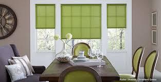 modern shades green roller shades flower shades kitchen window treatments