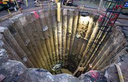 microtunneling. microtunnel shaft microtunneling i