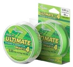Купить Плетеный шнур <b>ALLVEGA ULTIMATE</b> light green 0.2 мм 92 ...
