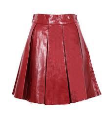 magique plus size leather skirt