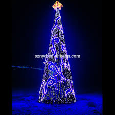 2017 Giant Christmas Tree For Outdoor Decorations Spectacular Led