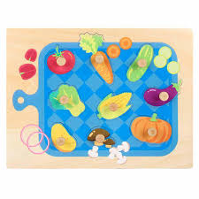 product details of kobwa baby peg puzzle kids eductaional puzzles preschool wooden puzzles animals jumbo knob wooden puzzle for boys and girls great gifts