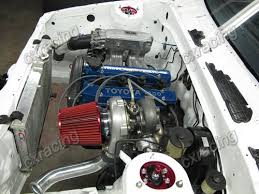 CXRacing T3 Turbo Intercooler kit Top Mount +Downpipe For Corolla ...