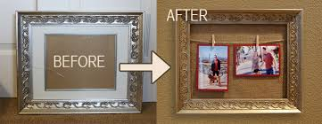 Clothes Pin Picture Frames