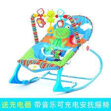 Baby Rocker Swing Baby Musical Rocking Chair Baby Bouncer Swing ...
