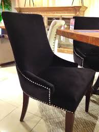 a beautiful black studded dining room chair houston tx gallery furniture