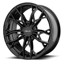5x120 Bolt Pattern Unique Helo HE448 448x48 Wheel With 48x48 Bolt Pattern Gloss Black