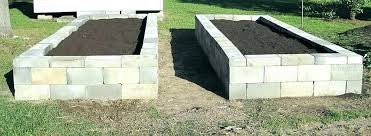 raised garden bed blocks cinder block raised bed leaching cinder block raised garden we like the
