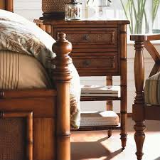 Tommy Bahama Home Island Estate West Indies Wood Poster Canopy Bed 3 Piece  Bedroom Set Tommy Bahama Furniture Collection99